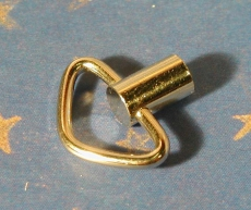 Ersatz-Ringschlüssel vernickelt 10 mm