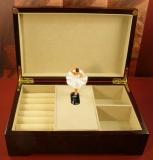 BÖHME Spieluhr Holzschatulle 89002S - Schwanensee - Degas mit Ballerina