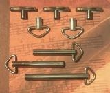 Ersatz-Schlüssel 10 - 60 mm - Ring-und T-Schlüssel-Set 8 Stück 10% sparen