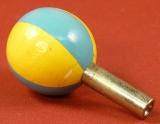 Ersatz-Schlüssel blau-gelb 40 mm