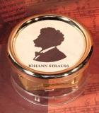 Briefbeschwerer Spieluhr 18 Ton Strauss