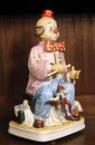 Clown mit Marionette, aus der Serie Melody in Motion