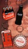 ENESCO Coca-Cola Schlüsselanhänger-Set