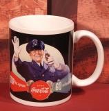 ENESCO Coca-Cola Police-Mug