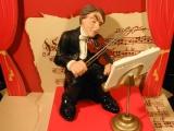 Sammelfiguren Serie Klassische Musiker Geiger