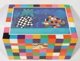 Trousselier Spieluhr Kompakt S91064 - Elmar der Elefant (David McKee)